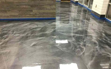 Metallic Epoxy Floor Coating Metallic Epoxy Garage Floor