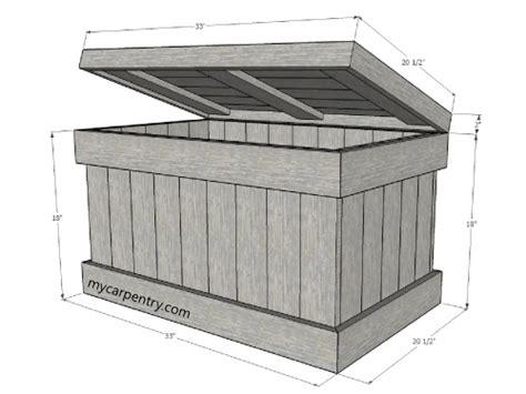 Build Patio Cover Plans by Cedar Chest Plans Build Your Own Cedar Chest