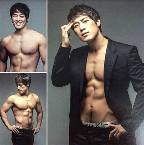 hot male president hero netizens dig up hot korean bodyguard s shirtless pics