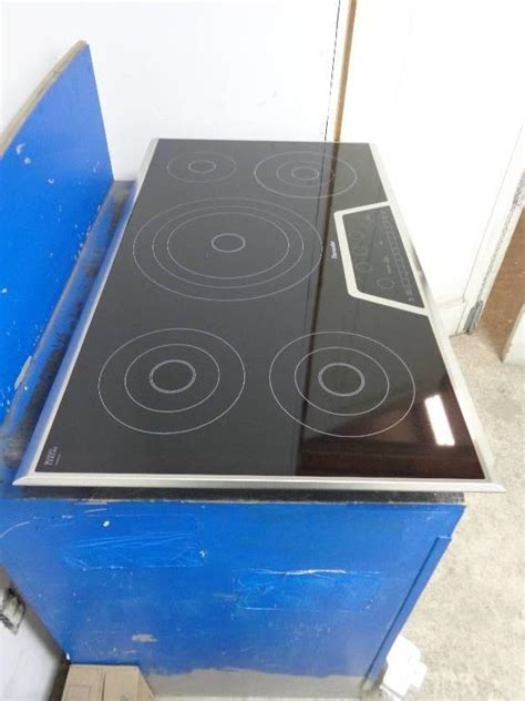 Thermador Electric Cooktop - thermador masterpiece series cet365ns 36 quot dual zone