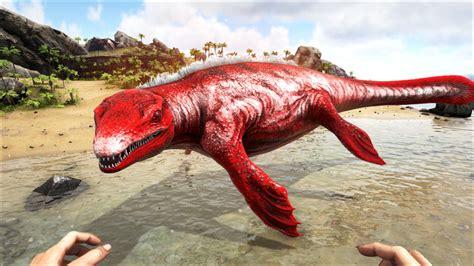 ark alpha boat alpha mosasaur official ark survival evolved wiki