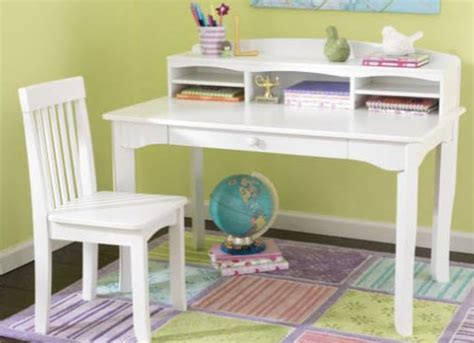 Kidkraft Avalon Desk With Hutch White 26705 Kidkraft Avalon White Desk W Hutch And Chair Free Shipping