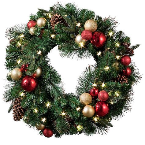 best 25 pre lit christmas wreaths ideas on pinterest