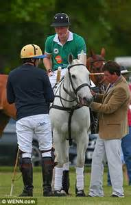 Spot à Pince 2908 by Prince Harry Shows His Equestrian Skills At Charity