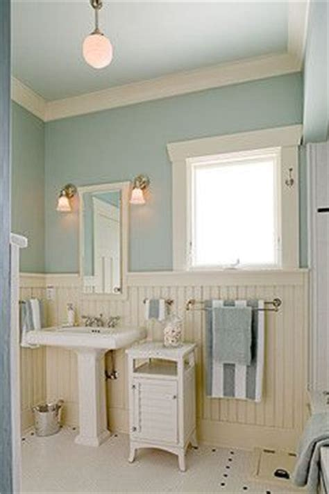 bloombety wainscoting in bathroom ideas with pale blue 15 must see blue white bathrooms pins bathroom small