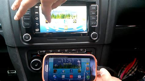 Golf 5 Auto Unlock by Volkswagen Rns 510 Smart Phone Miirroring System Youtube