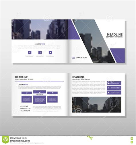 layout of book report report cover template for business presentation or cartoon