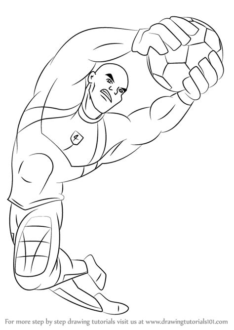 Drawing Big step by step how to draw big bo from supa strikas