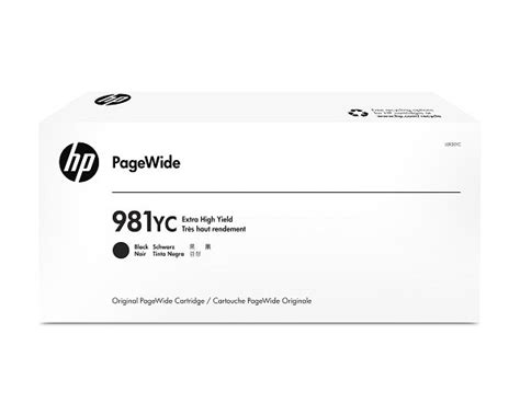 Hp 981y Black High Yield Original hp l0r20yc 981yc ink cartridge black 21k pages 345ml