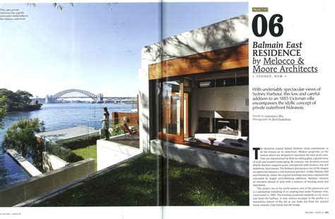 Houses Magazine by Balmain House Featured In Houses Magazine