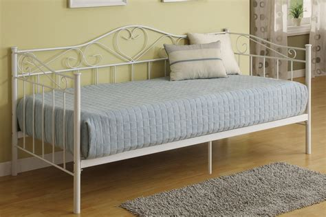 Metal Daybed Frame White Metal Daybed Frame Decorate My House