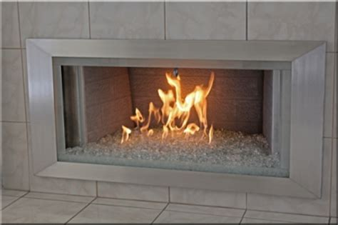 aluminum or stainless steel fireplace surrounds stainless
