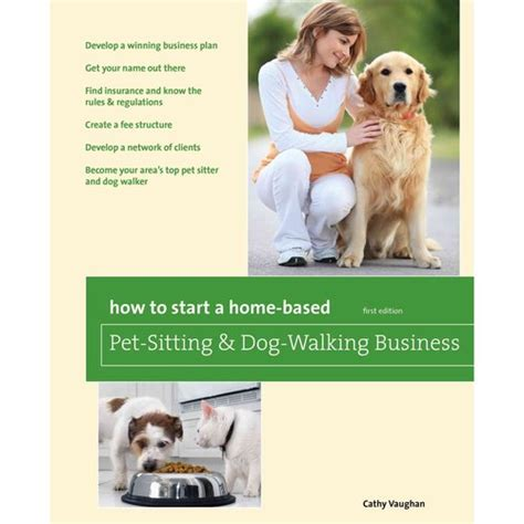 how to start a home based pet sitting and walking