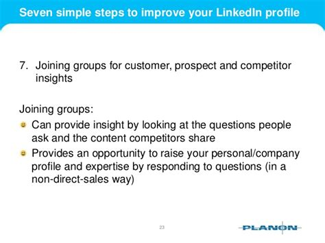 Seven Easy Ways To Improve Your Complexion by Seven Simple Steps To Improve Your Linkedin Profile
