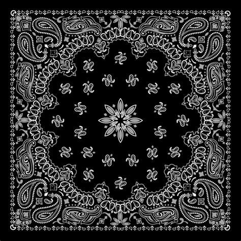 bandana pattern coreldraw 精美黑白花纹背景矢量图 矢量图案素材 矢量素材 素彩网