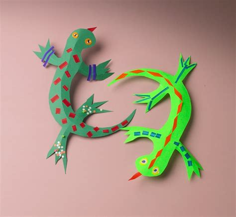 rainforest crafts for leaping lizards craft crayola