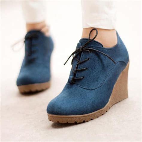 Sepatu Fashion Korea Wedges 8 68 classic korean style lace up color shoes on luulla