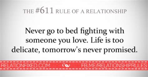 never go to bed angry quotes never go to bed mad relationship rules quote pinterest