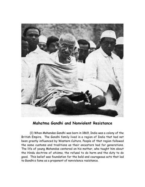biography of mohandas karamchand gandhi pdf mahatma gandhi and nonviolent resistance pdfsr com