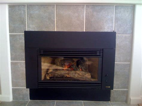 gas fireplace insert installation home design