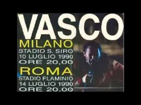 vasco guarda dove vai vasco live in roma 1990 guarda dove vai