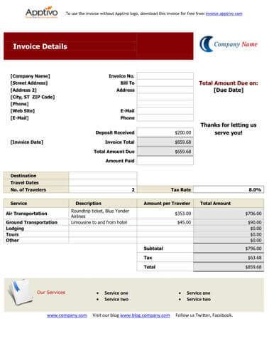tours and travels bill format efficient portrayal blank taxi receipt