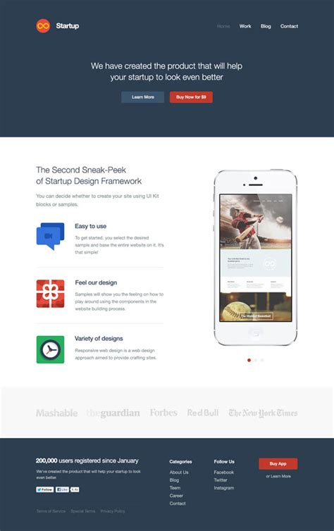 Mobile App Website Template Download Free Psd And Html Mobile Application Website Templates