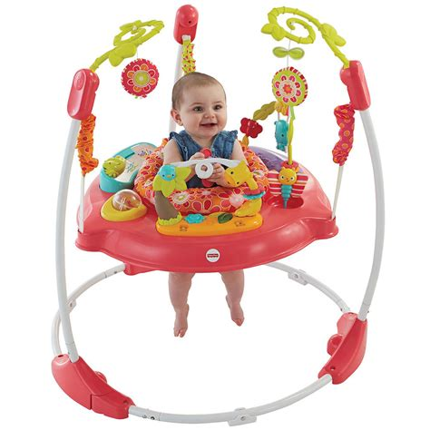 fisher price swing with lights fisher price pink petals jumperoo 360 degree baby bouncer