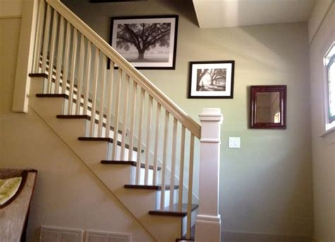 Accent Wall Staircase by Painted Staircase With Accent Wall Yelp