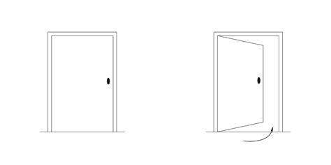 Sens Ouverture Porte 4864 by Sens Ouverture Porte Sens D 39 Ouverture Sens Ouverture