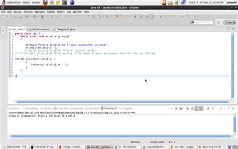 java program for reverse pattern java program to reverse the words in a sentence