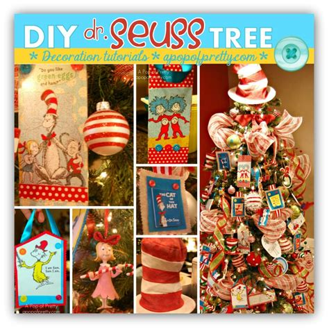 how to make dr seuss christmas tree decorations a