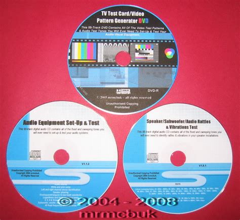 test pattern dvd pal ntsc lcd plasma tv test card audio test cd dvd ebay