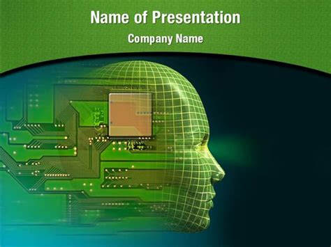 Artificial Intelligence Powerpoint Templates Artificial Free Robotics Ppt Templates