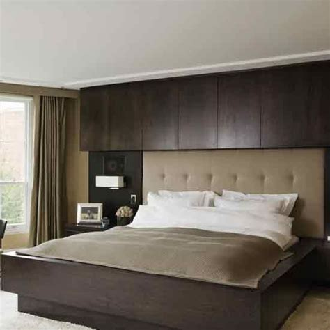hotel inspired bedroom ideas hotel style built in headboard innovative headboards