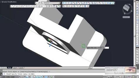 adan087 tutorials autocad 3d drawing 6