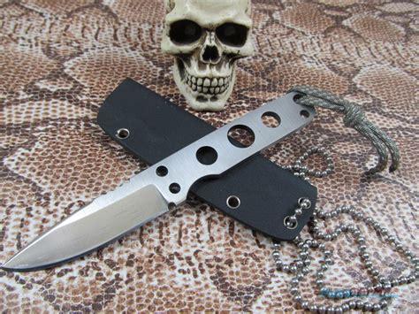 custom neck knives joe hargis custom neck knife