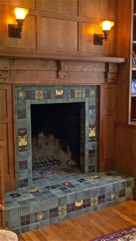 craftsman fireplace tile pin by shannon hannagan on arts crafts era