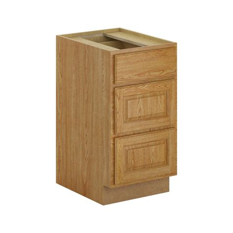 3 drawer base cabinet unfinished assembled 36x34 5x24 in sink base kitchen cabinet in