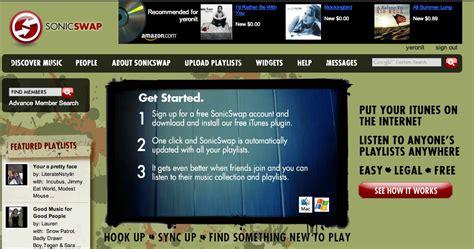 condividere libreria itunes sonicswap condividiamo la nostra playlist di itunes