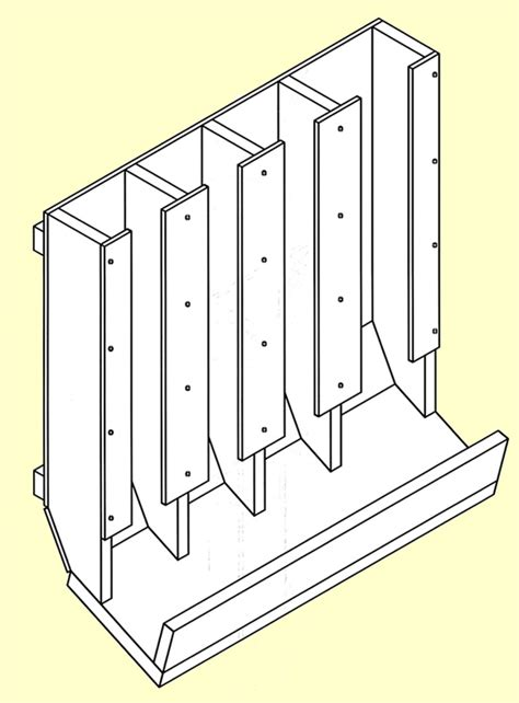 Can Rotation Rack by Food Storage Can Rotation Shelf Plans Pdf Woodworking