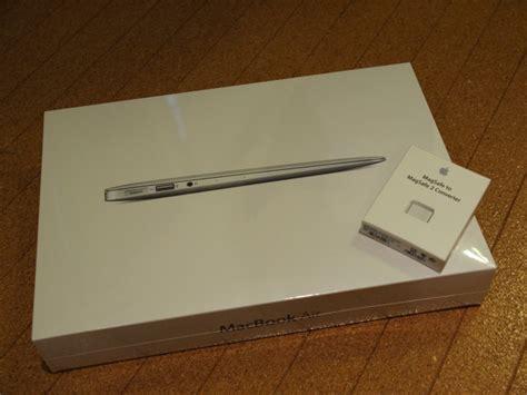 Mba 2013mid by Macbook Air 11inch Mid 2013 を買った けど あんまりワクワクはしてない かな
