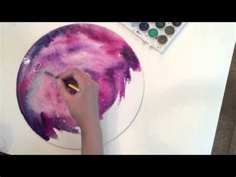 tutorial watercolor galaxy how to paint a watercolor quot galaxy quot tutorial by giovana