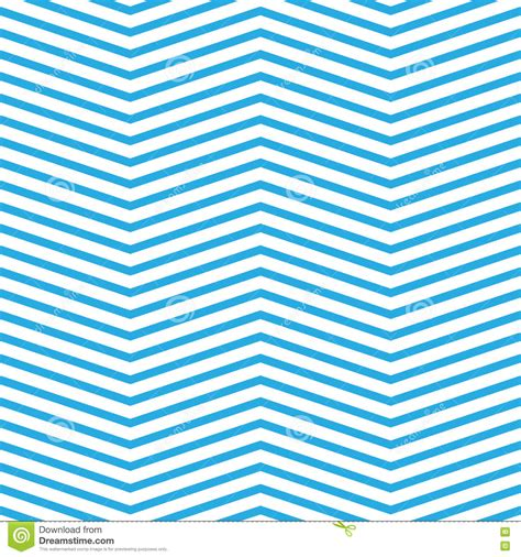 zig zag pattern blue seamless chevron pattern in blue and white stock vector