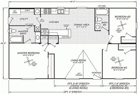 fleetwood manufactured homes floor plans double wide mobile home floor plans fleetwood mobile