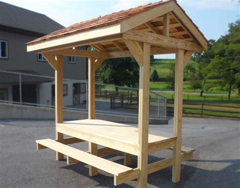 Metal Picnic Bench by Personal Picnic Table Pavilion