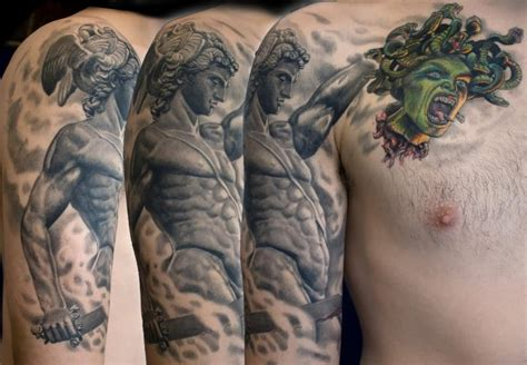 medusa chest tattoo medusa ideas and medusa designs