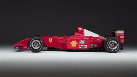 Wheels Formula 1 F2001 Michael Schumacher Marlboro a chance to own one of michael schumacher s f1 race cars