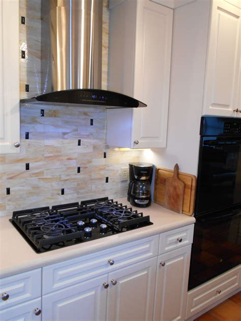 kitchen with glass tile backsplash stained glass tile backsplash designer glass mosaics