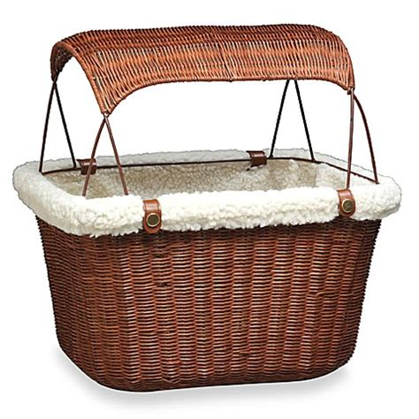 bed bath and beyond baskets buy wicker bicycle pet basket from bed bath beyond